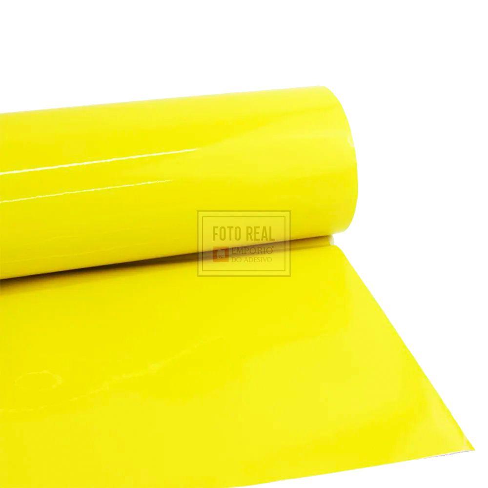 Adesivo Cristal Color Amarelo 1,06m x 1,00m