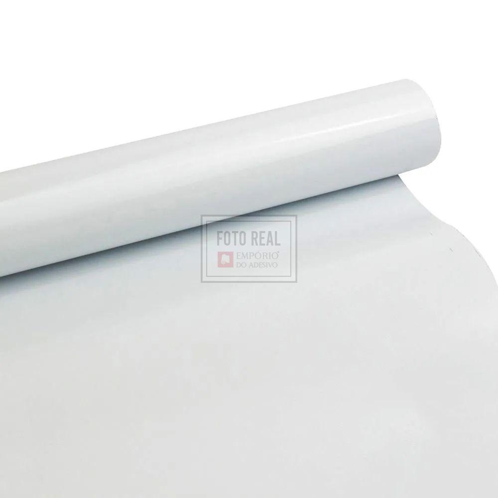 Adesivo Eletroestatico Branco 1,00m x 1,00m