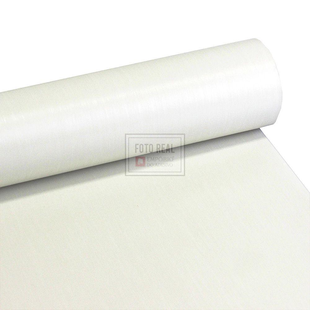 Adesivo Gold Escovado Branco 1,22m x 1,00m