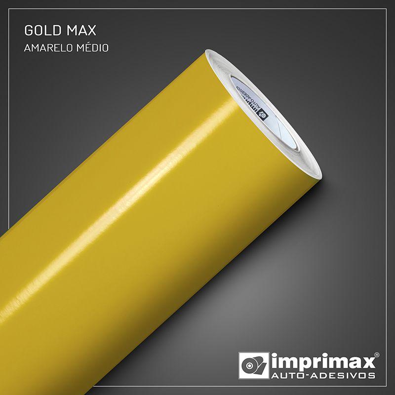 Adesivo Gold Max Amarelo Medio 1,22m x 1,00m