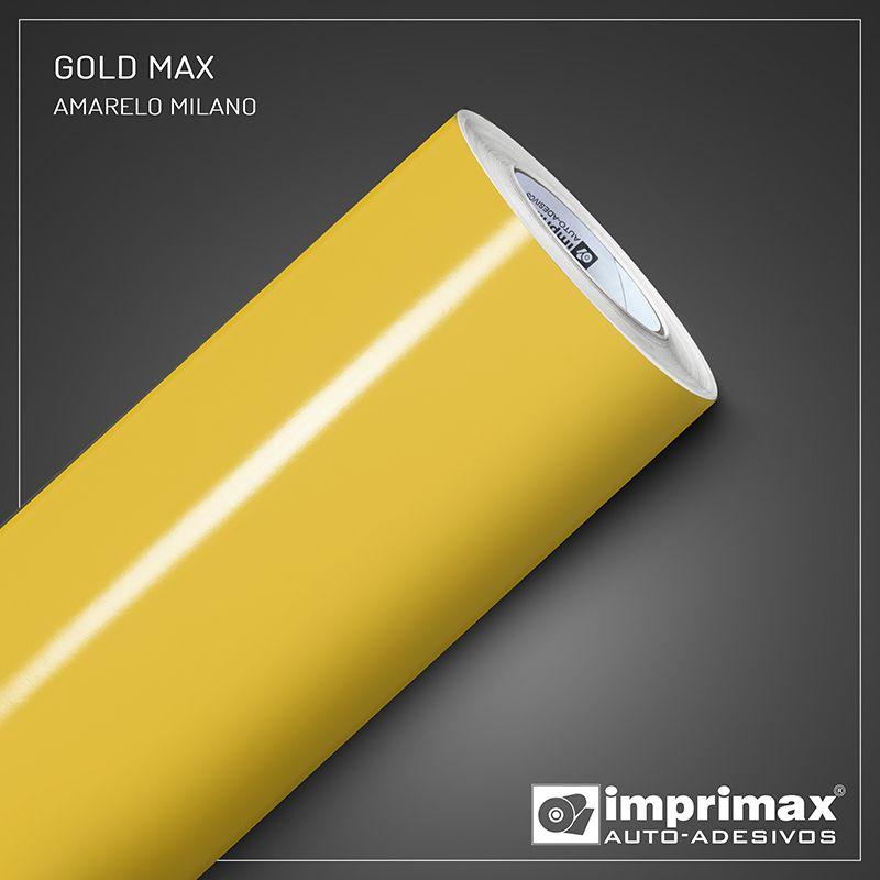 Adesivo Gold Max Amarelo Milano 1,22m x 1,00m