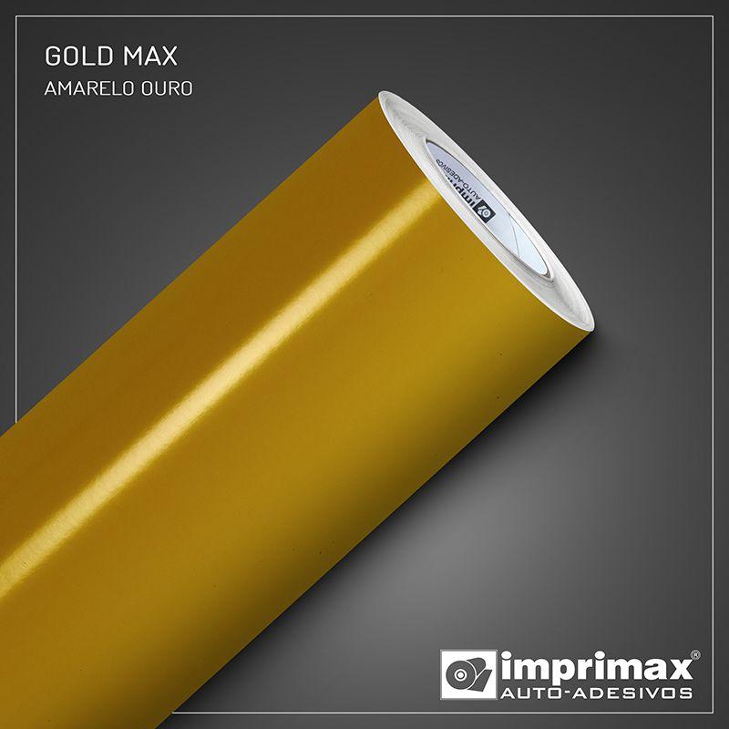 Adesivo Gold Max Amarelo Ouro 1,22m x 1,00m