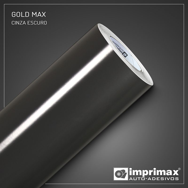 Adesivo Gold Max Cinza Escuro 1,22m x 1,00m