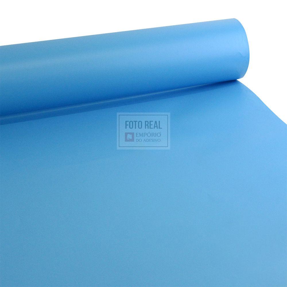 Adesivo Gold max fosco azul gelo 1,22m x 1,00m