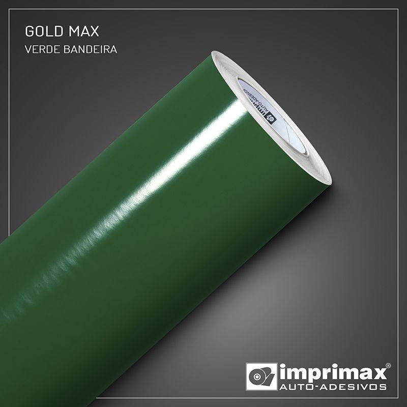 Adesivo Gold Max Fosco Verde Bandeira 1,22m x 1,00m