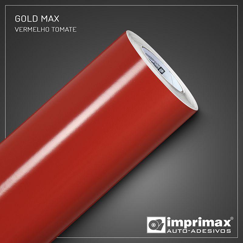Adesivo Gold Max Vermelho Tomate 1,22m x 1,00m