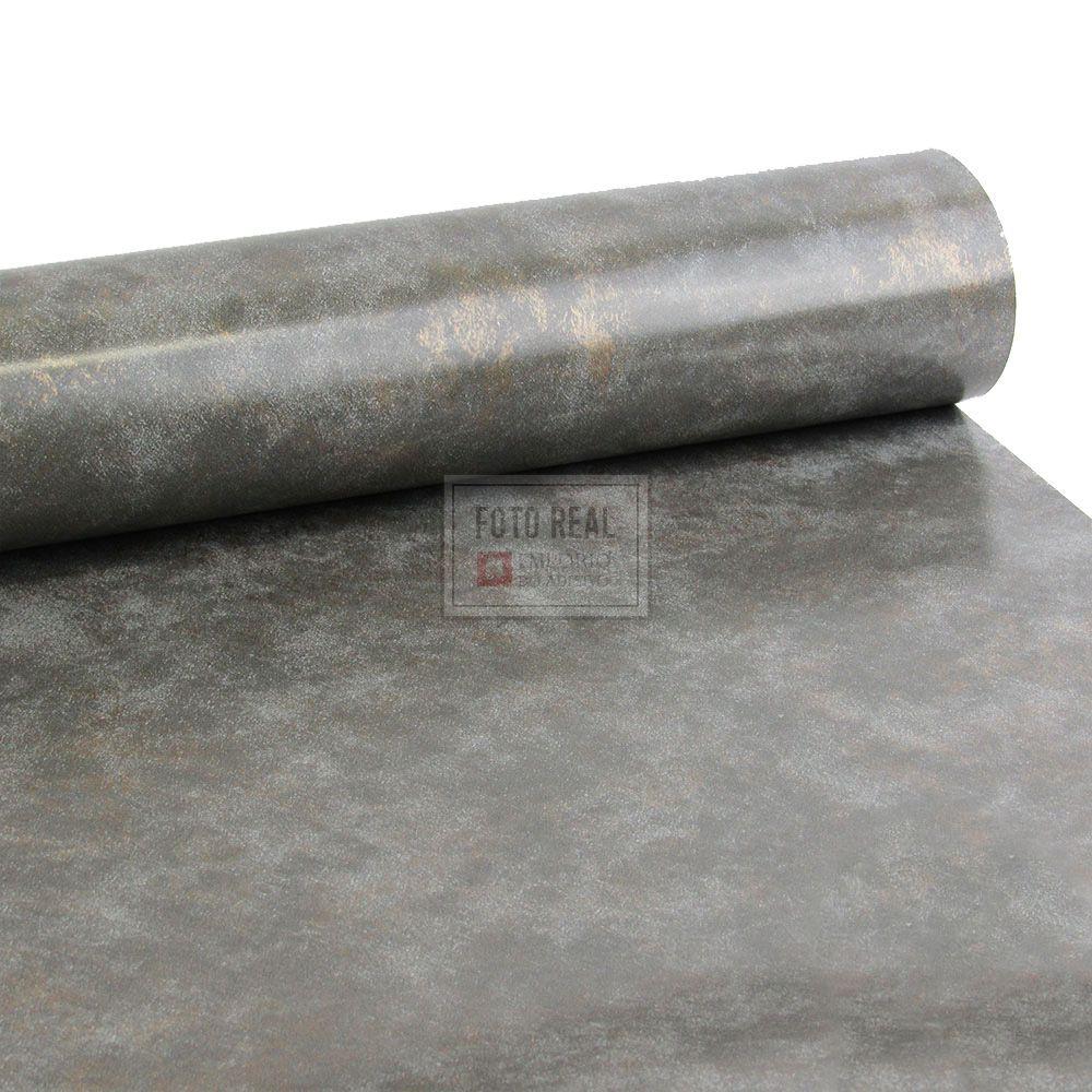 Adesivo Gold Metal Corten Grafite Oxido 1,22m x 1,00m