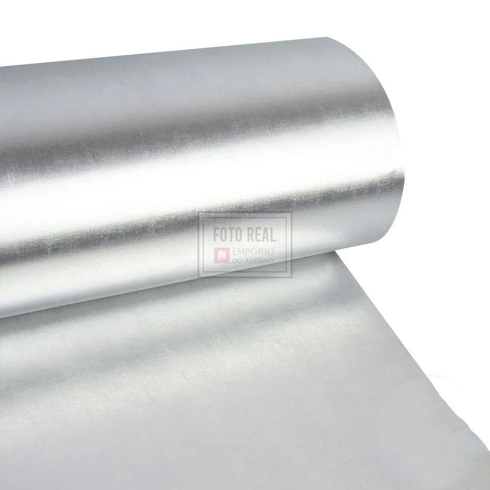 Adesivo Gold Metallic Telado Prata 1,06m x 1,00m