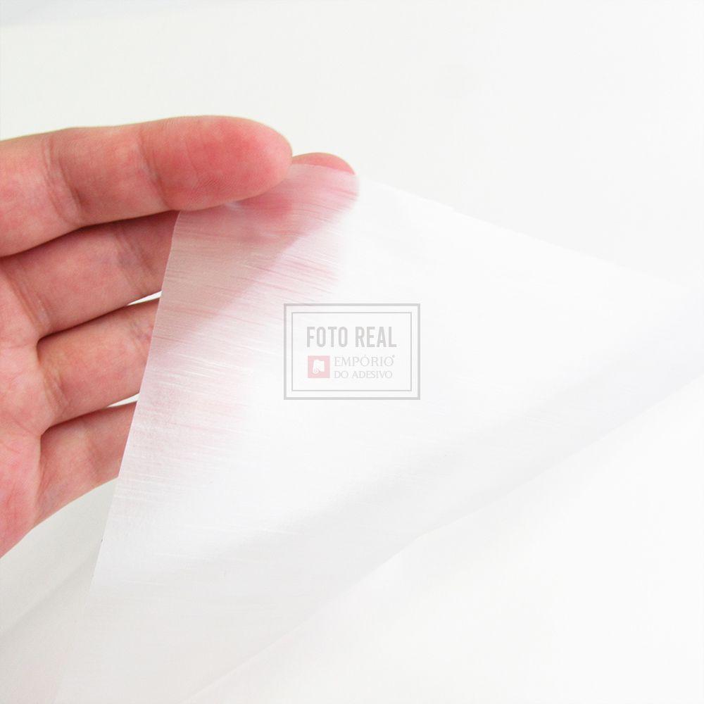 Adesivo Jateado para Vidro Escovado 1,22m x 1,00m