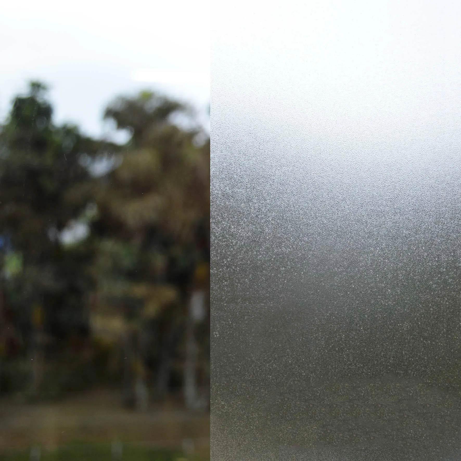 Adesivo Jateado para Vidro Transparente Metalizado 1,22m x 1,00m