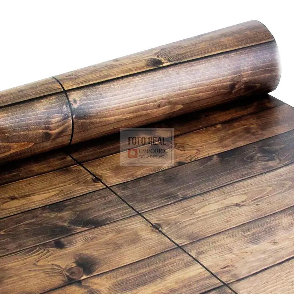 Adesivo Lavável Fosco Madeira Demolição 0,58 x 1,00m
