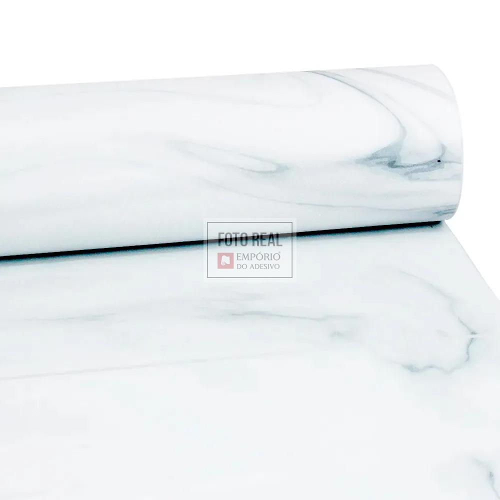 Adesivo Lavável Fosco Marmore Branco Prime 0,58 x 1,00m