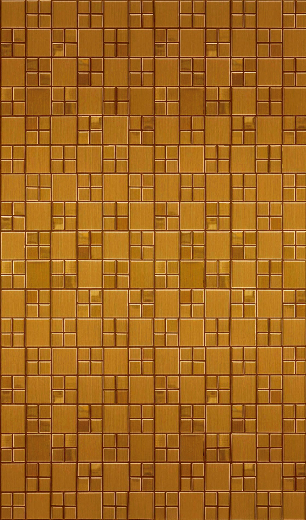 Adesivo Lavável Pastinha Metálica Bronze 0,58 x 1,00m