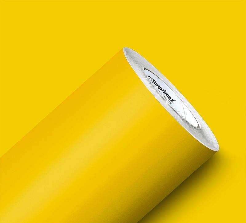 Adesivo Max Lux Amarelo Milano Petro 1,22m x 1,00m