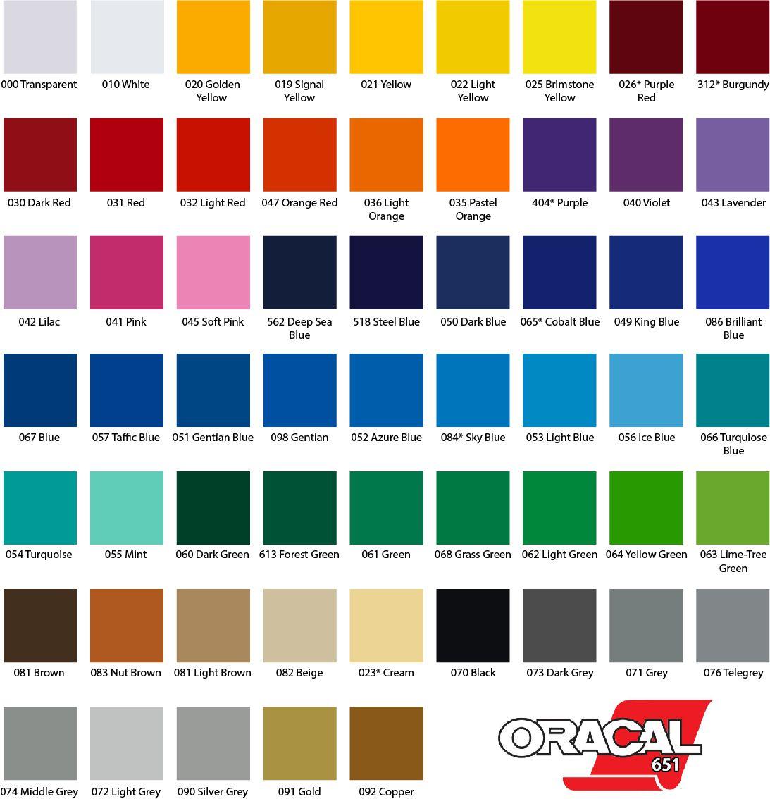 Adesivo Oracal 651 030 Dark Red 0,63m x 1,00m