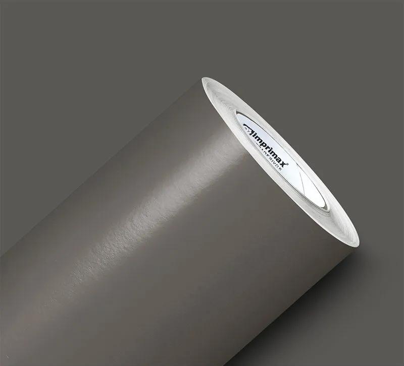 Adesivo Silver Max Brilho Cinza Escuro 1,22 x 1,00m