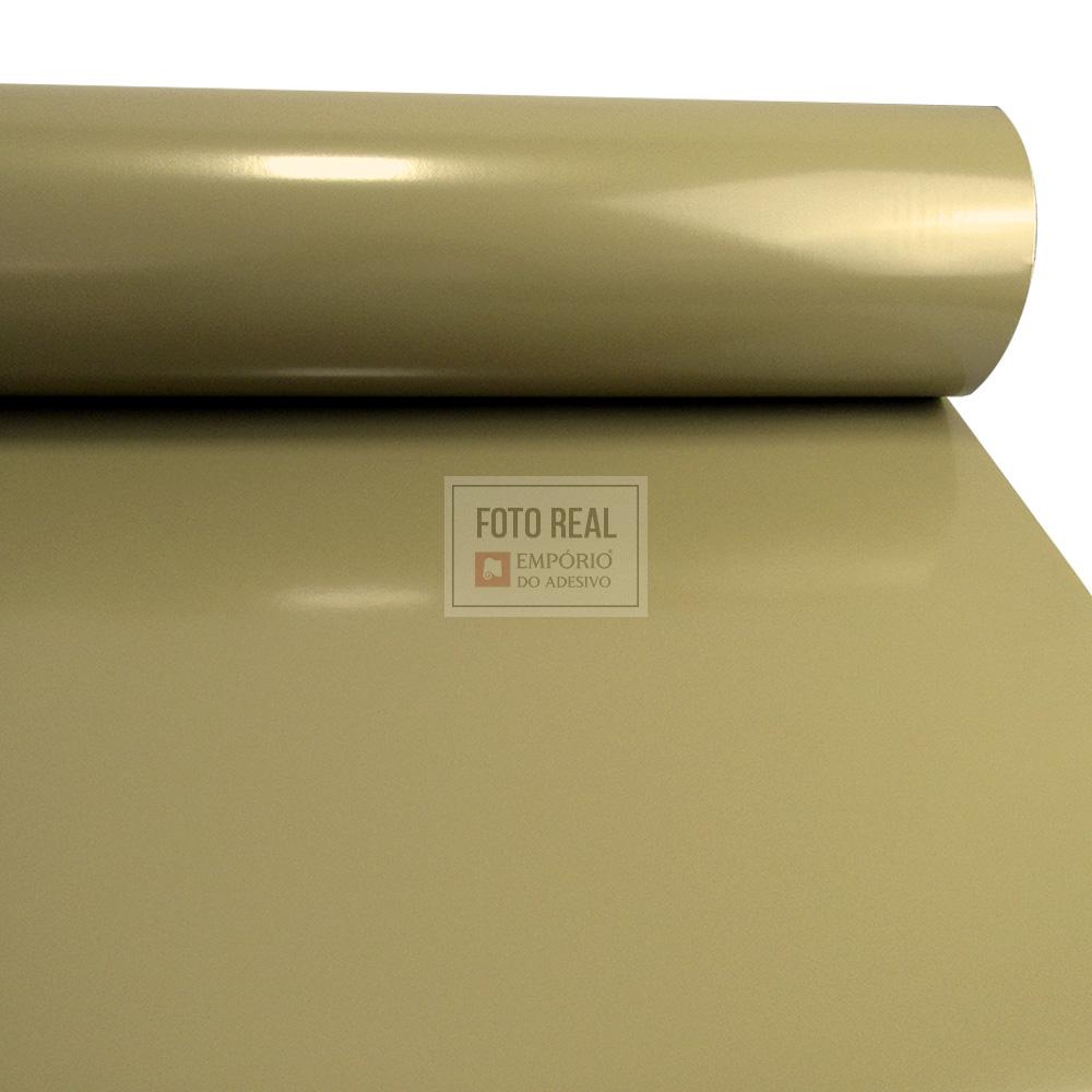 Adesivo Silver Max Brilho Dourado 1,22 x 1,00m