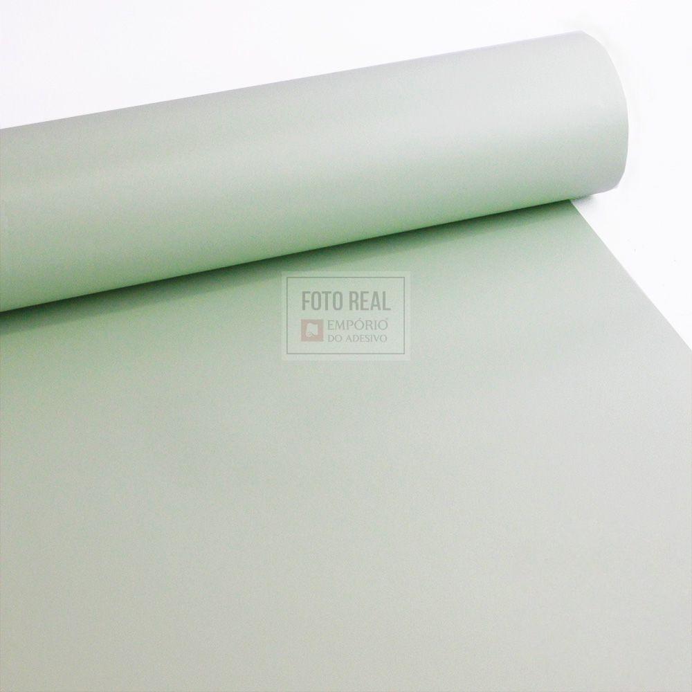 Adesivo Silver Max Fosco Verde Menta 1,22 x 1,00m