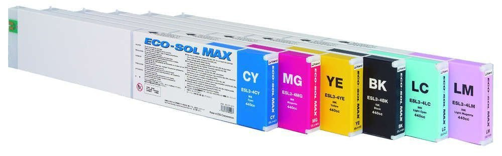 Cartucho Ecosol Max Cyan Light 440ml