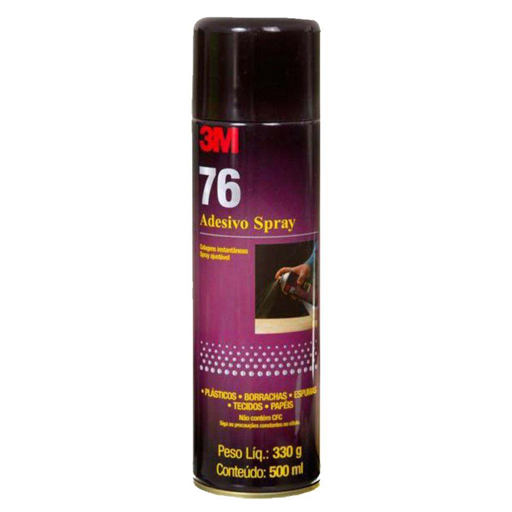 Cola Spray 76 Adesivo 300 Gramas