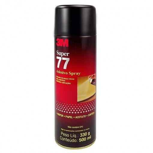 Cola Spray 77 Adesivo 300 Gramas