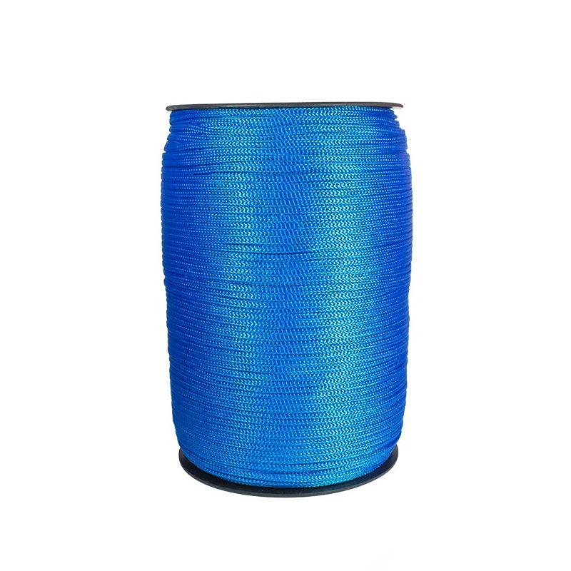 Cordao P/ Banner 2mm Azul Rolo