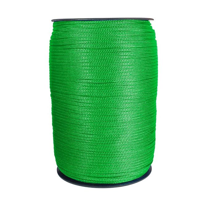 Cordao P/ Banner 2mm Verde Rolo