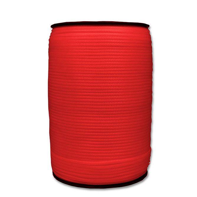 Cordao P/ Banner 2mm Vermelho Rolo