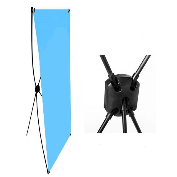 Display X para Banner - XB-D 60cm x 1,60m
