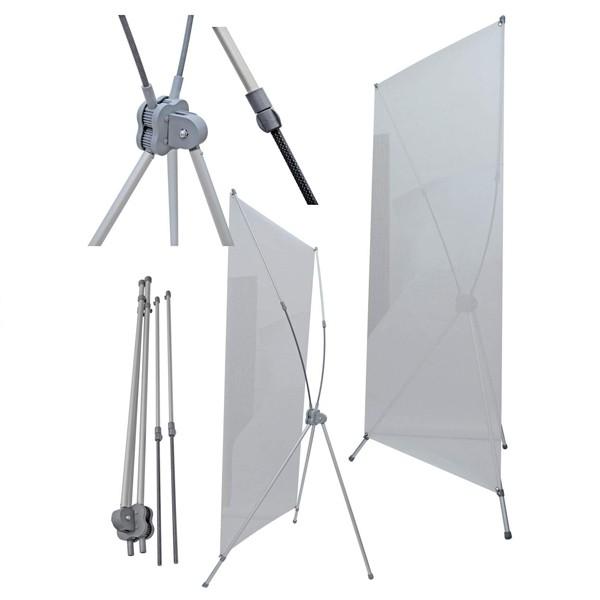 Display X para Banner - XB-G 80cm x 1,80m
