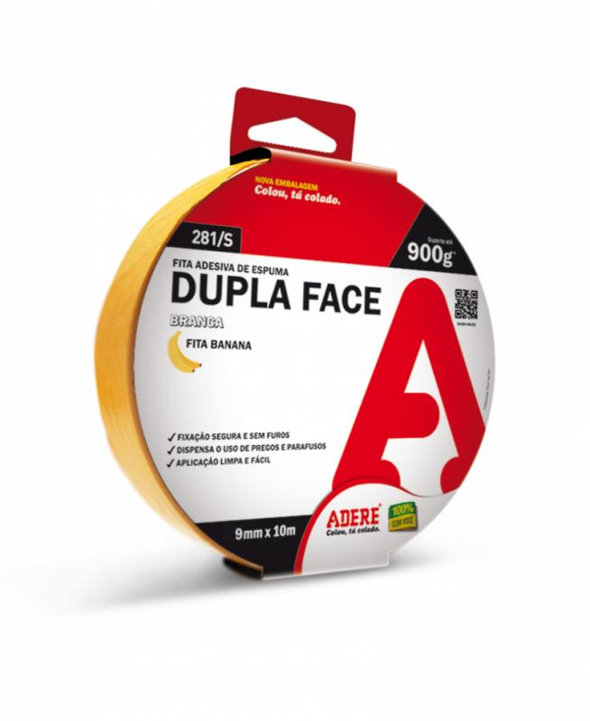 Fita Dupla Face Espuma 9mm x 10m