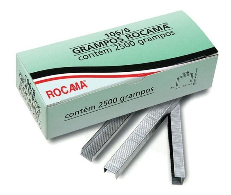 Grampo Rocama 106/6 C/ 3500 Unidades