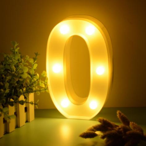 Luminária Led Número 0