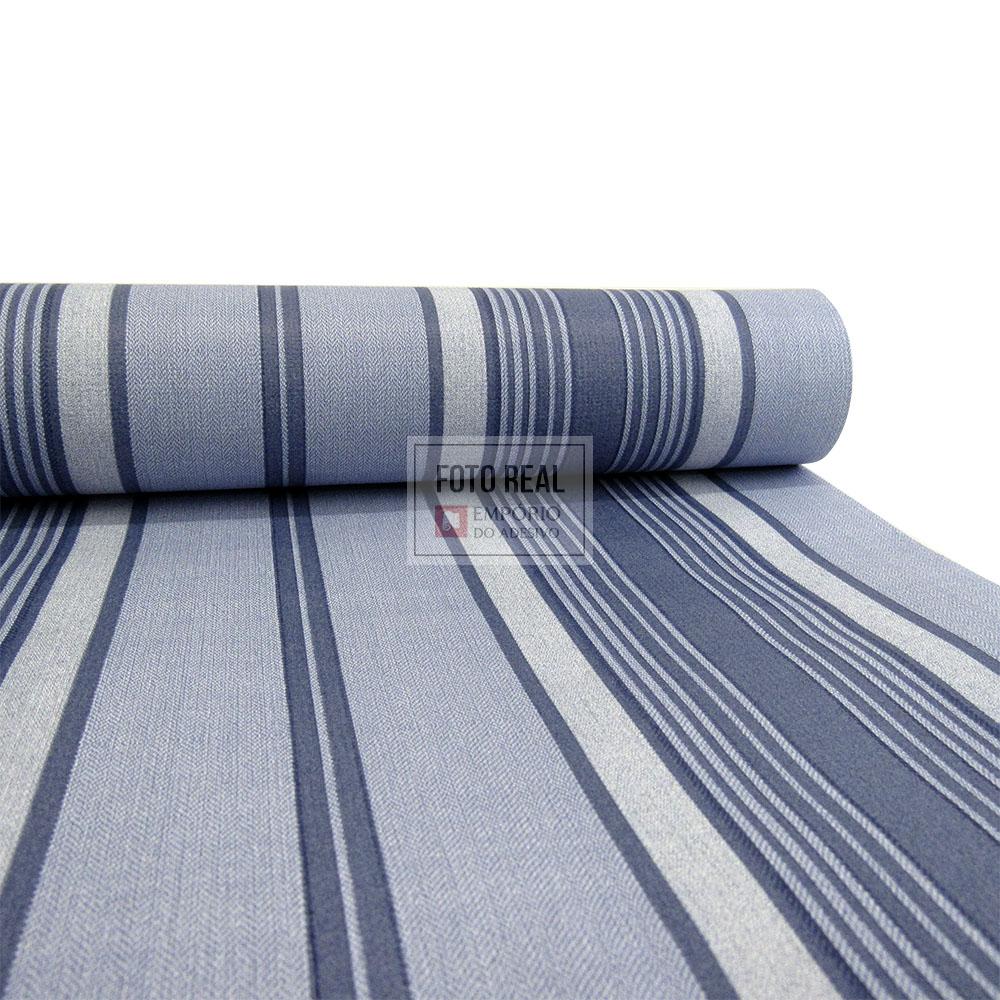 Papel de Parede Atemporal Azul Classique 2832 0,52 x 10,00m