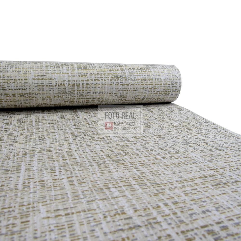 Papel de Parede Atemporal Bege Textura Sergipe 3714 0,52 x 10,00m