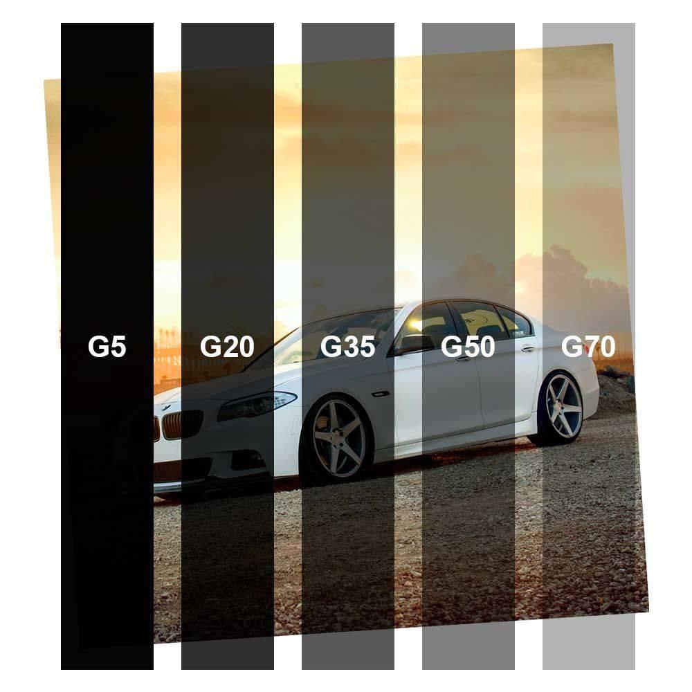Película para Vidro Economico Grafite G05 1,52m x 1,00m