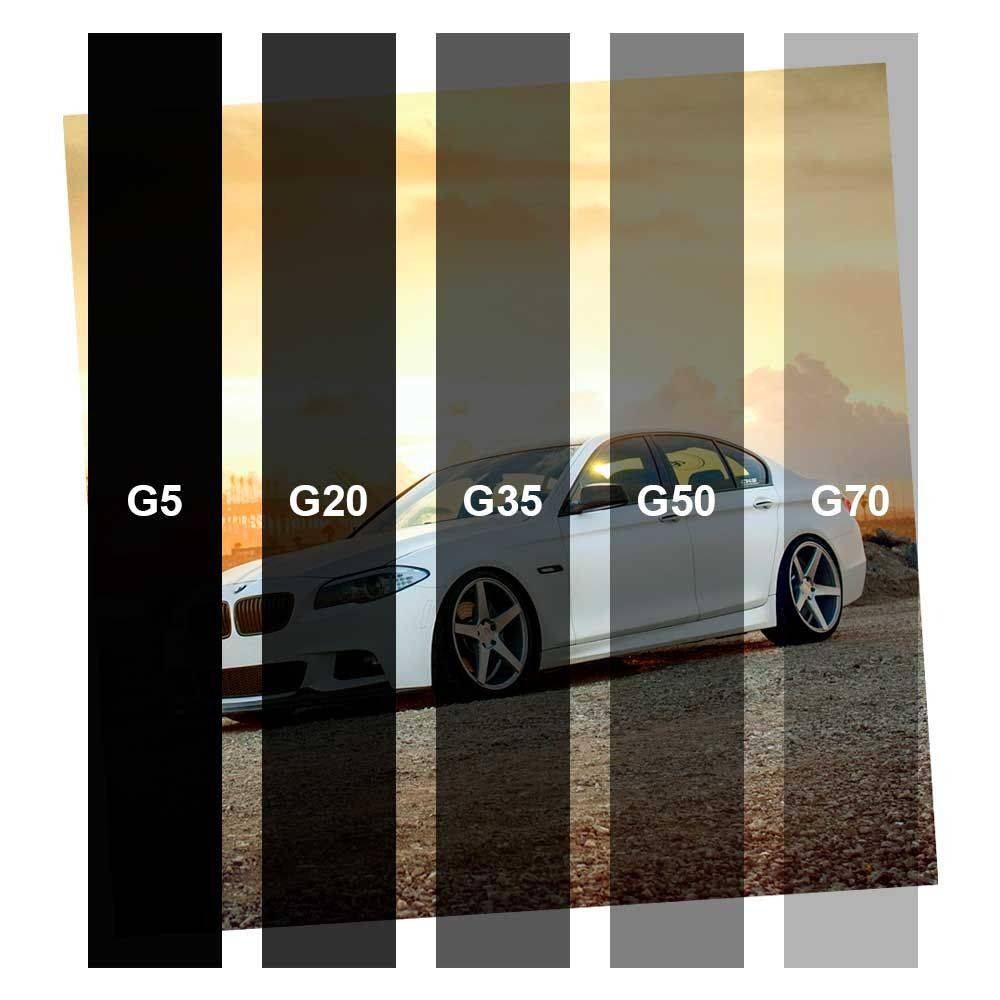 Película para Vidro Economico Grafite G35 1,52m x 1,00m