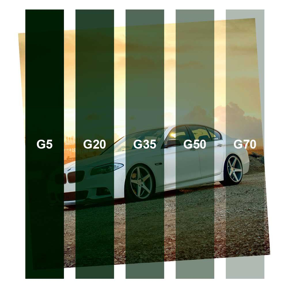 Película para Vidro Economico Verde G50 1,52m x 1,00m