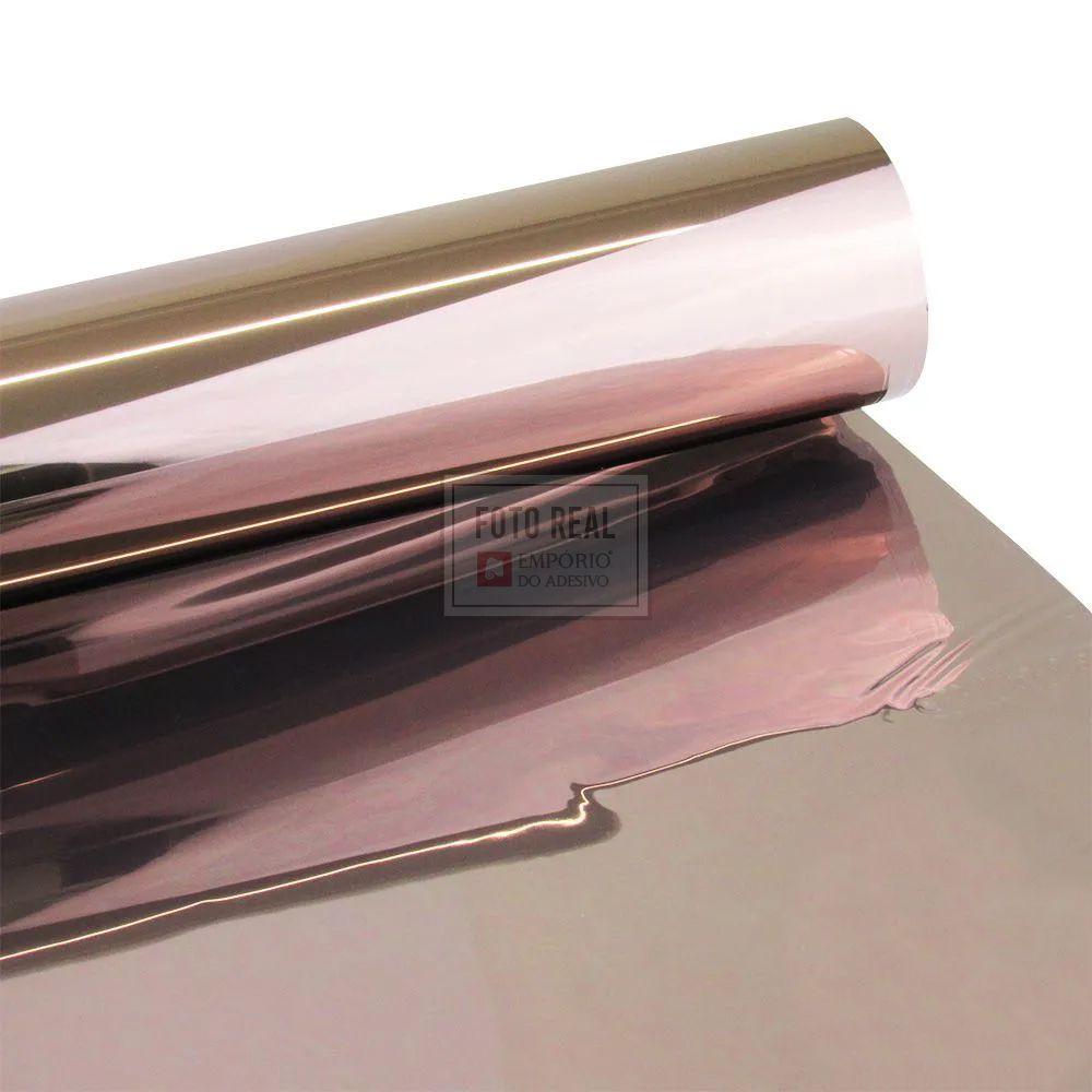 Película para Vidro Espelhado Bronze 1,52m x 1,00m