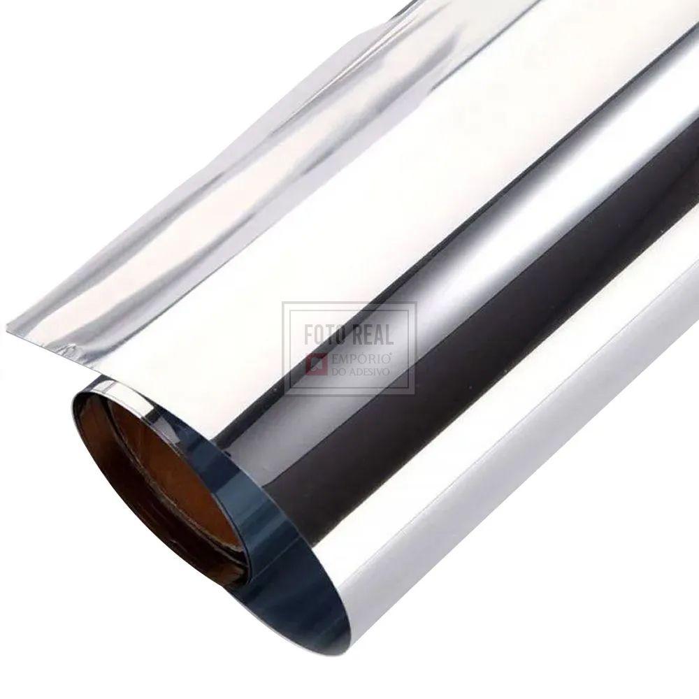 Película para Vidro Espelhado Prata G05 1,52m x 1,00m