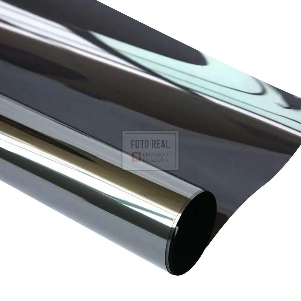 Película para Vidro Espelhado Smoke Invert 1,52m x 1,00m