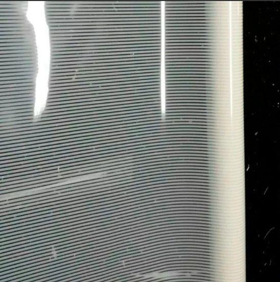 Película para Vidro Listrado Fino 1,52m x 1,00m