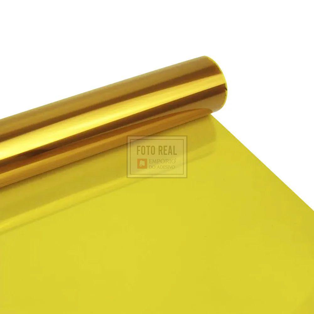 Película para Vidro Natural Amarelo G20 1,52m x 1,00m