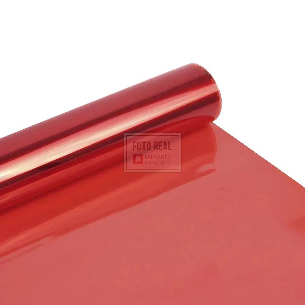 Película para Vidro Natural Vermelho G20 1,52m x 1,00m