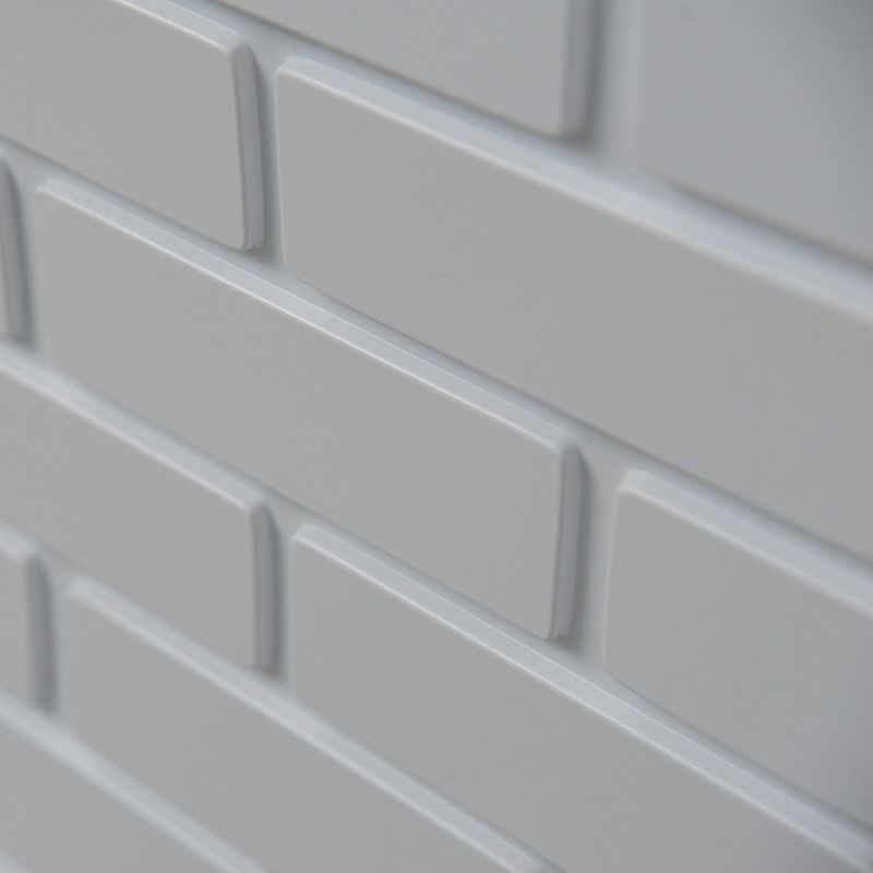 Placa 3D Autoadesiva Revestimento Premium Brick 0,50 x 0,50cm
