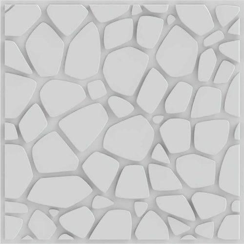 Placa 3D Autoadesiva Revestimento Premium Stones 0,50 x 0,50cm