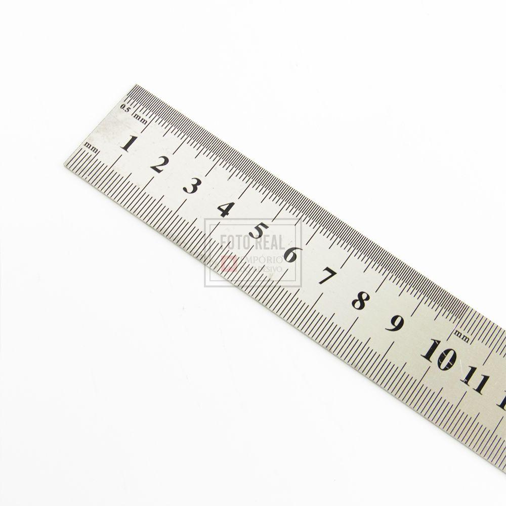 Regua de Aço 60cm