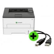 Impressora Lexmark B2236DW Laser Mono + Cabo USB GRÁTIS