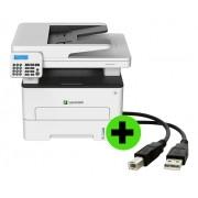 Multifuncional Lexmark MB2236ADW IMP Laser Mono + CABO USB GRÁTIS