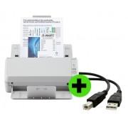 Scanner Fujitsu EKO 20 + CABO USB GRÁTIS